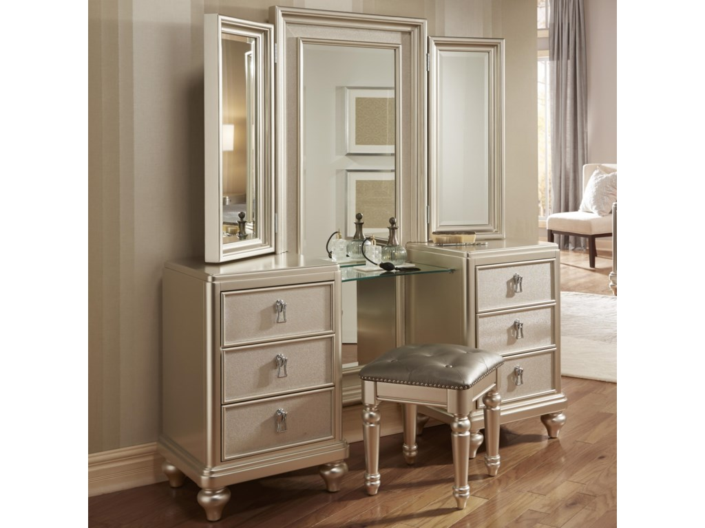 Morris Home Furnishings South BeachSouth Beach 2 Piece Vanity Dresser & Mirror