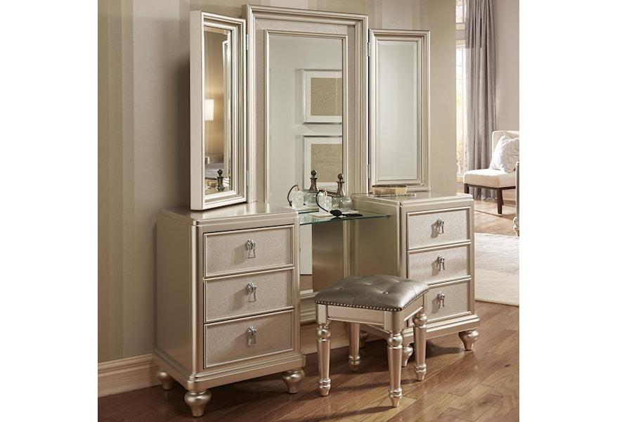 Vanity Dresser Tri View Mirror