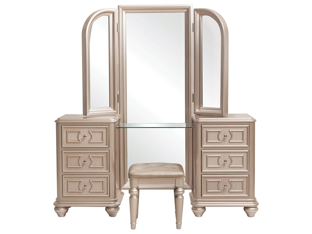 Samuel Lawrence DynastyVanity with Stool