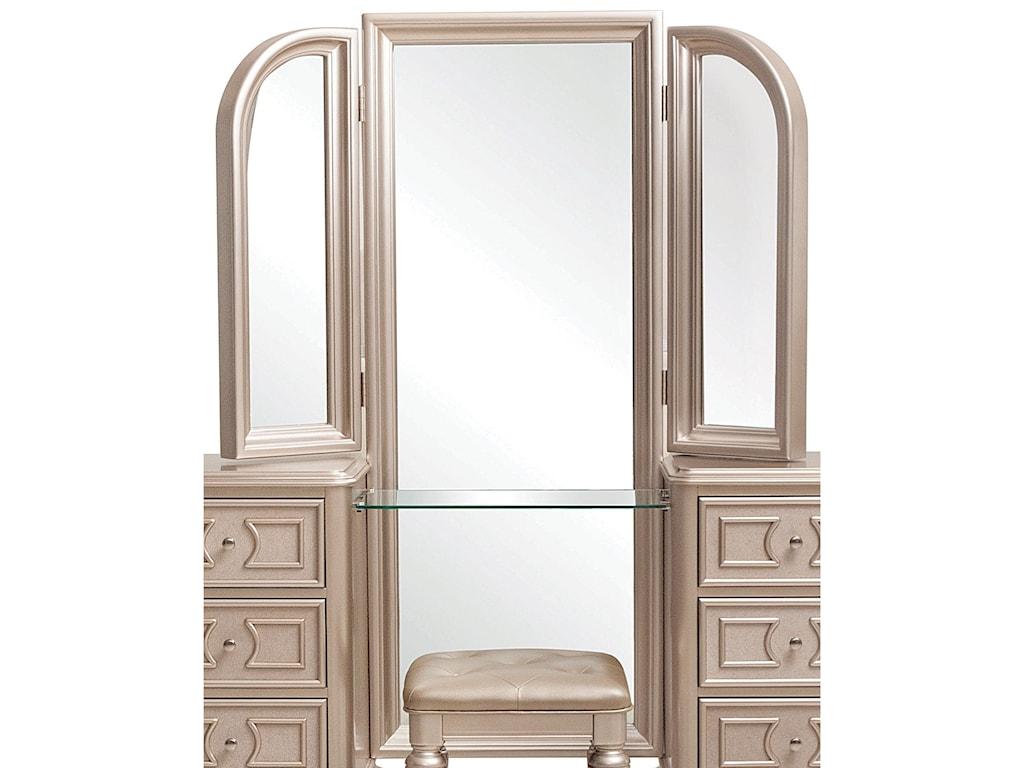 Samuel Lawrence DynastyVanity Tri View Mirror