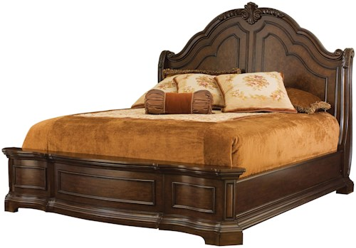 headboard sleigh king philippe louie size buy