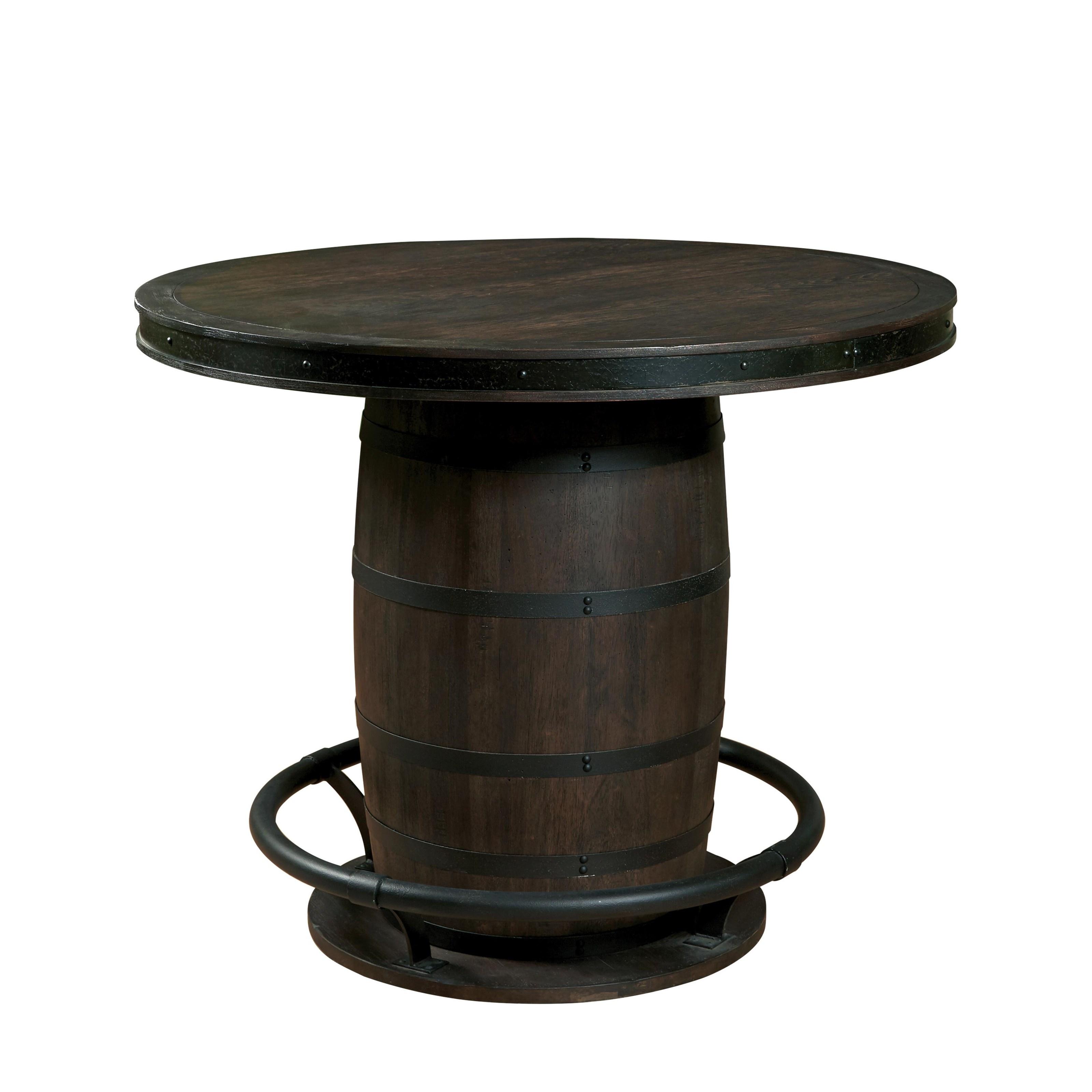 Morris Home Furnishings EisenbergEisenberg Whiskey Barrel Table