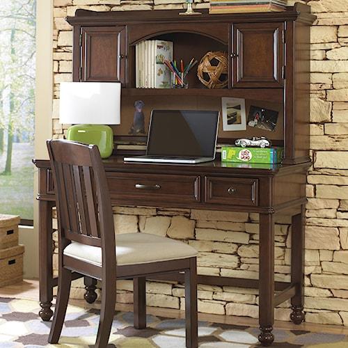 Kidz Gear Griffin Desk w/ Hutch & Corkboard