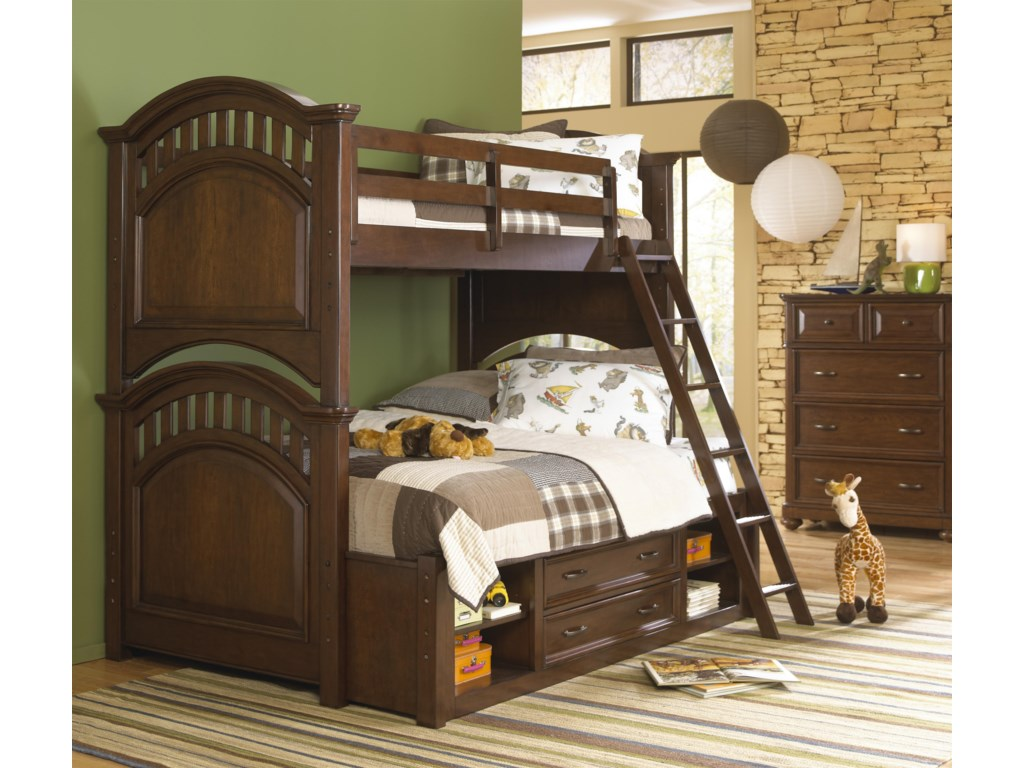 Shown with Bunk Bed w/ Ladder & Storage