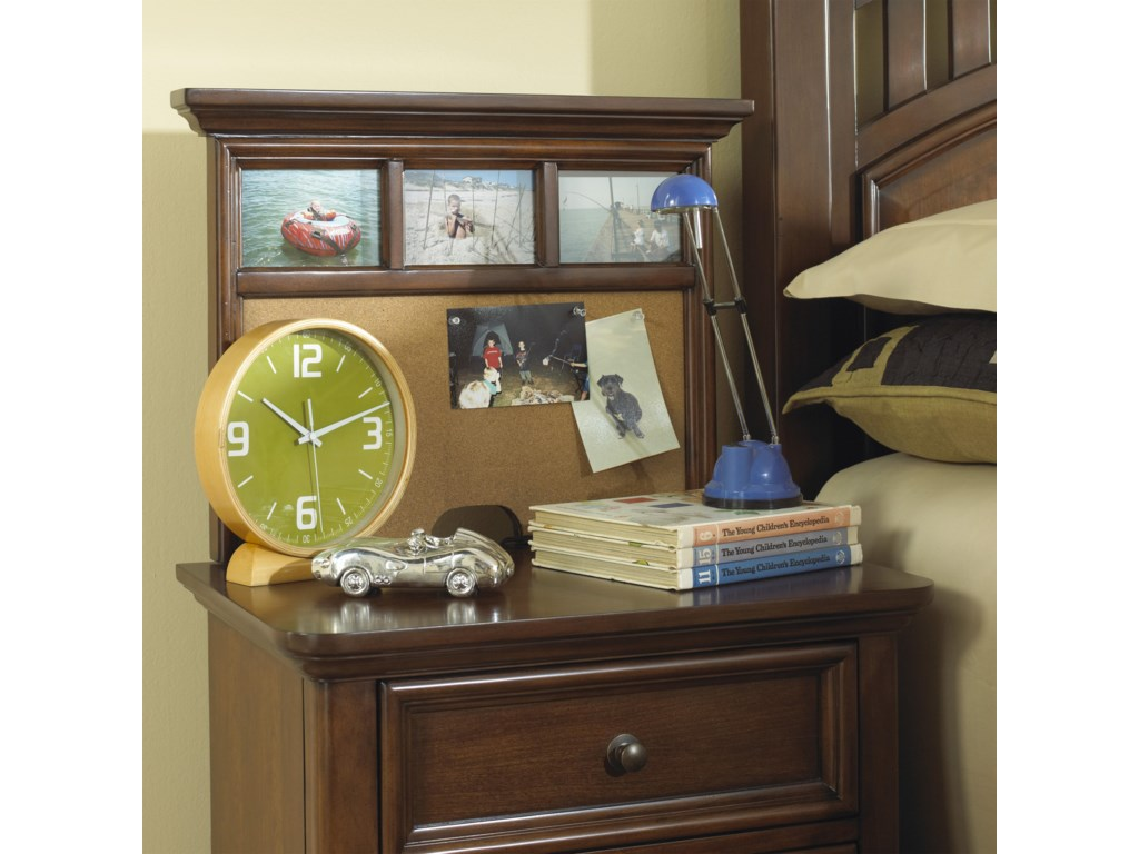 Shown with Nightstand Back Panel