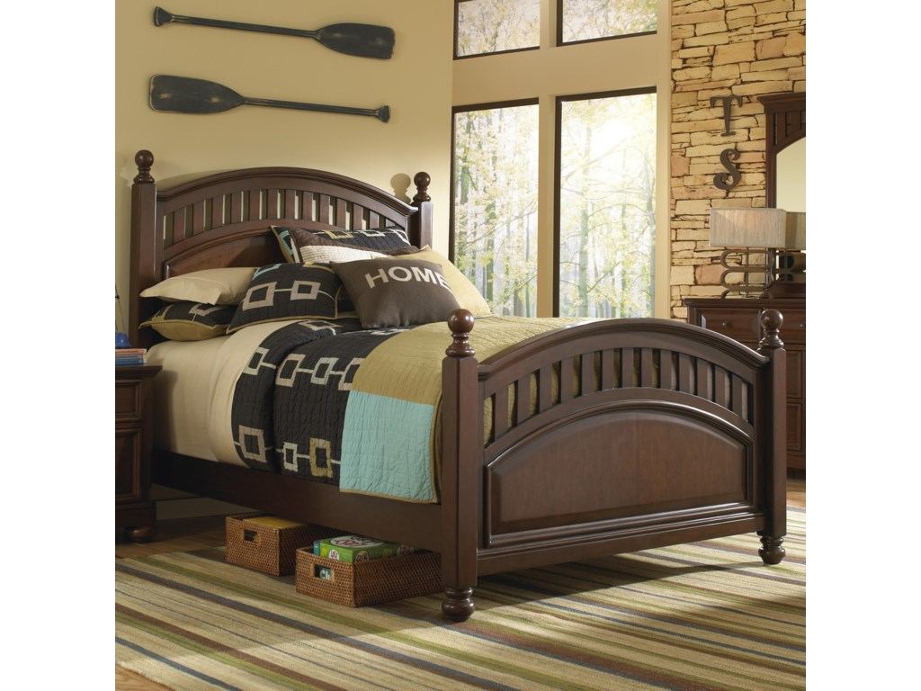 Samuel Lawrence Expedition Youth Twin Low Post Bed | Great ...