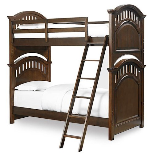 Kidz Gear Griffin Twin Bunk Bed w/ Ladder