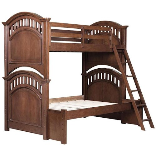 Samuel lawrence expedition youth twin full bunk bed - Bedroom furniture stores indianapolis ...