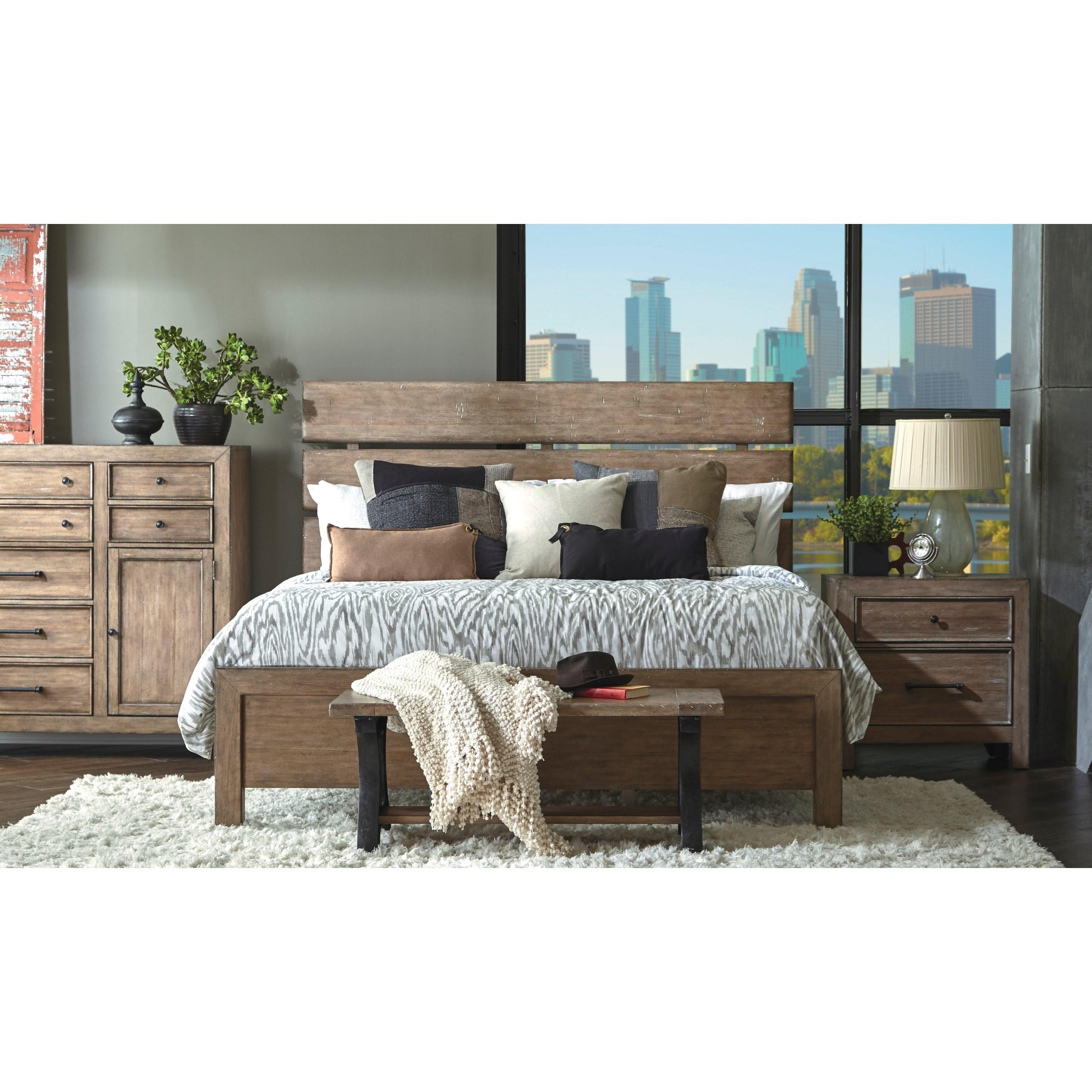 Samuel Lawrence Flatbush Queen 6 Piece Bedroom Group
