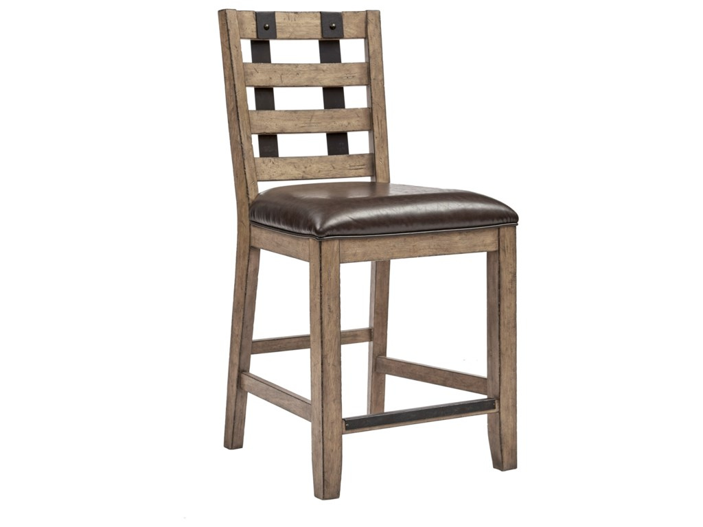 Samuel Lawrence FlatbushMetal Strap Gathering Chair