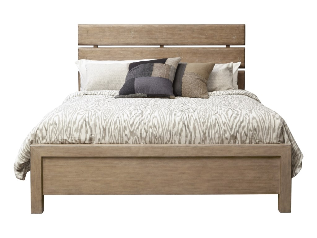 Samuel Lawrence FlatbushQueen Plank Bed