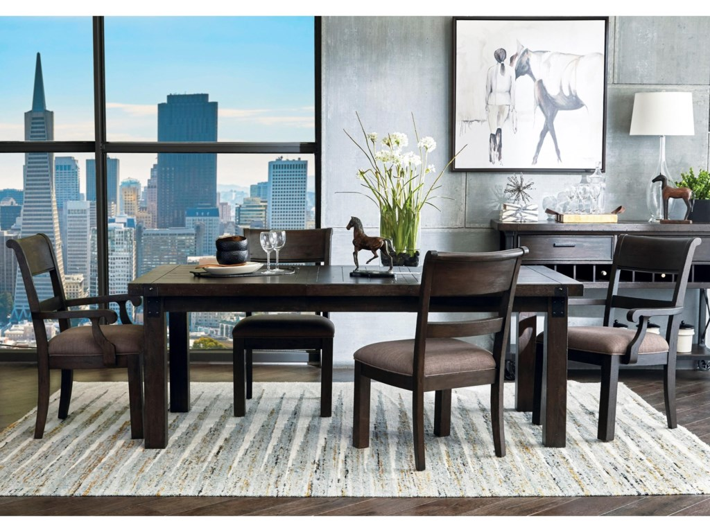 Samuel Lawrence Fulton Street5 Piece Table and Chair Set