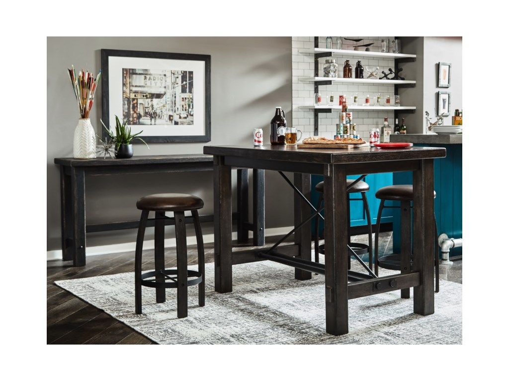 Samuel Lawrence Furniture City Brewing - StoutLeg Bar Table