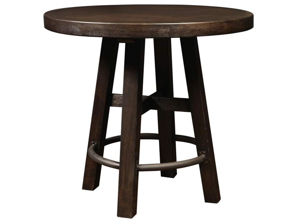 Samuel Lawrence Furniture City Brewing - StoutRound Bar Table