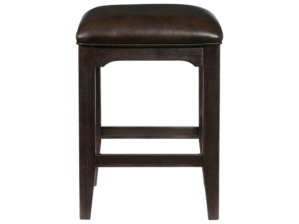 Samuel Lawrence Furniture City Brewing - StoutLager Gathering Stool w/ Metal Footrest