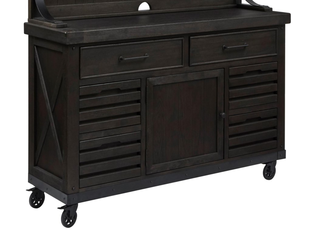 Samuel Lawrence Furniture City Brewing - StoutDraft House Cabinet