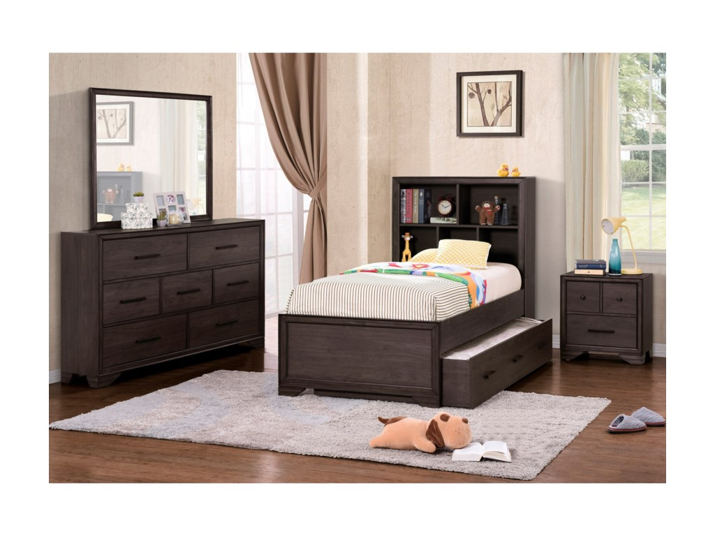 Samuel Lawrence Granite FallsFull Bedroom Group