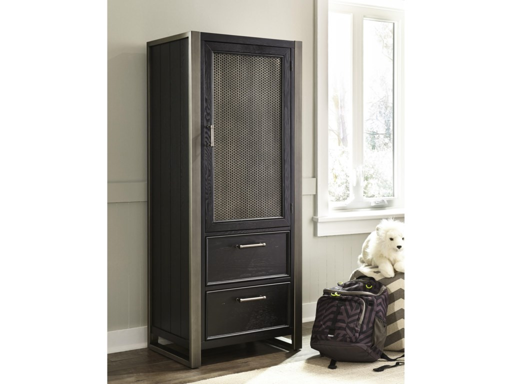 Samuel Lawrence GraphiteDoor Wardrobe