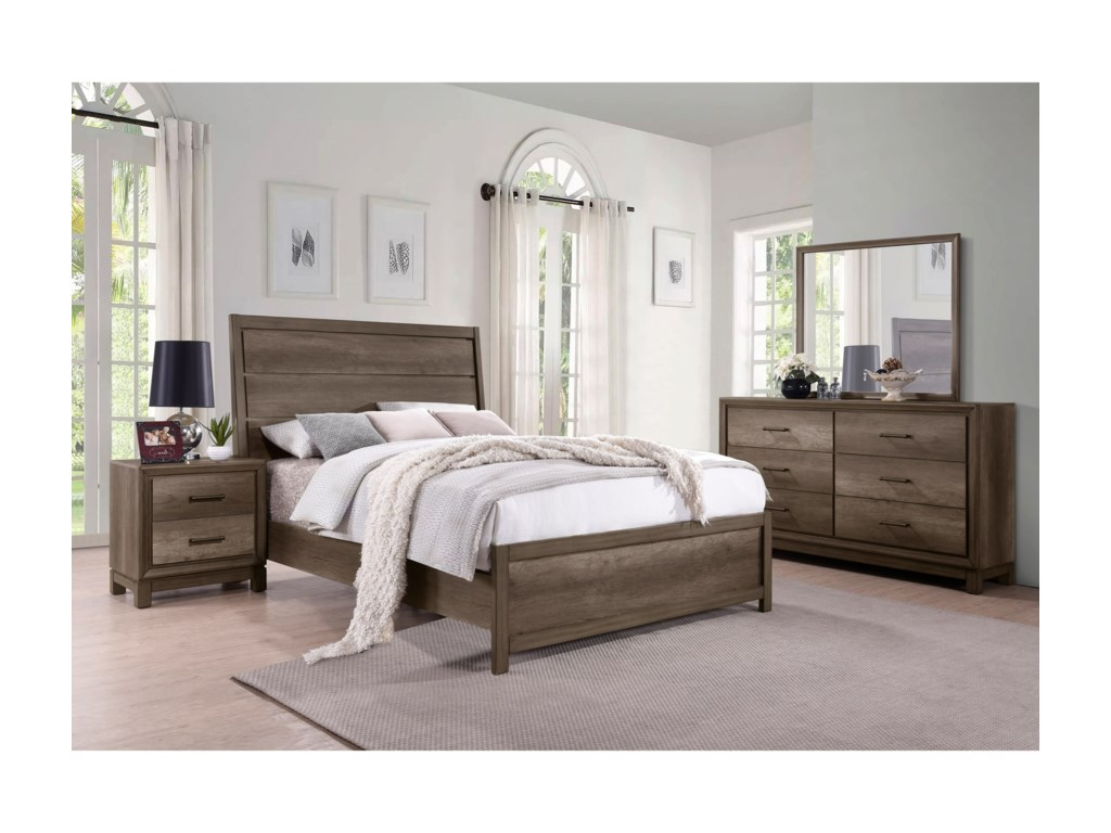 Samuel Lawrence Hanover SquareKing Bedroom Group