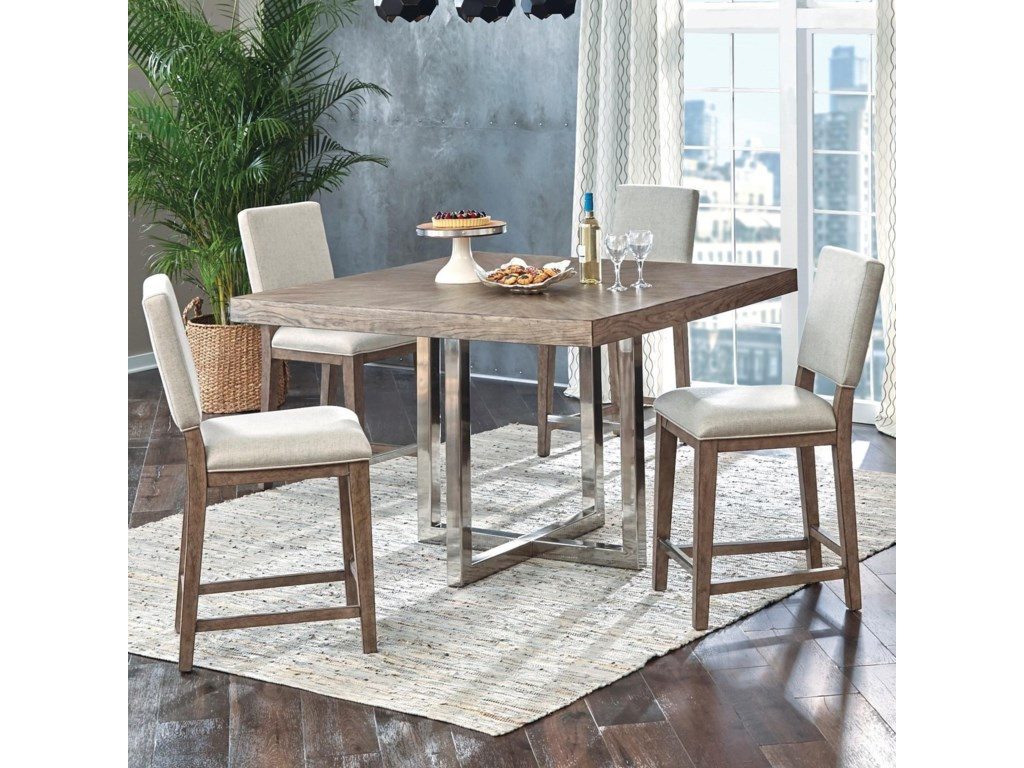 Samuel Lawrence Highland Park5 Piece Gathering Table and Chair Set