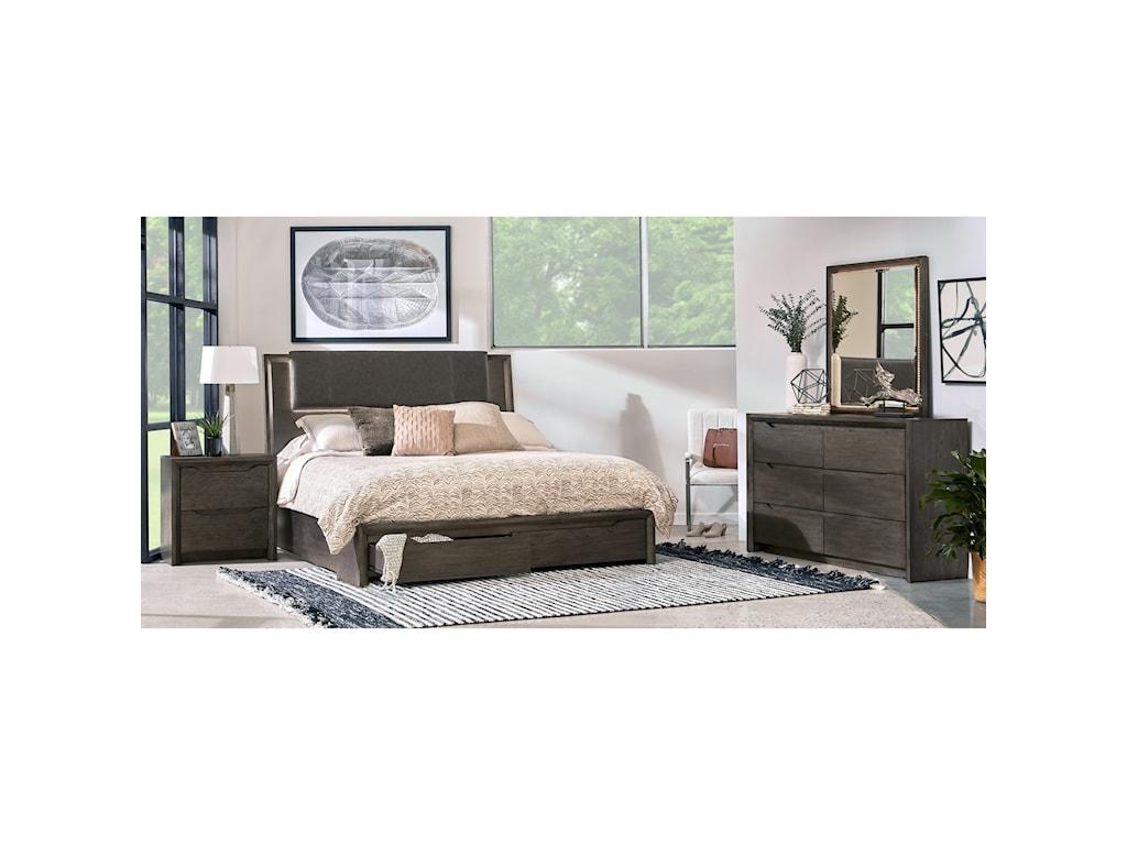 Samuel Lawrence JavaQueen Bedroom Group
