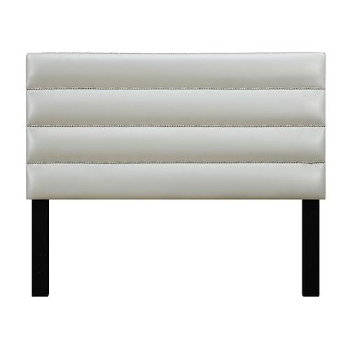 Samuel Lawrence Jordan Full Upholstered Headboard w/ Nailhead Trim