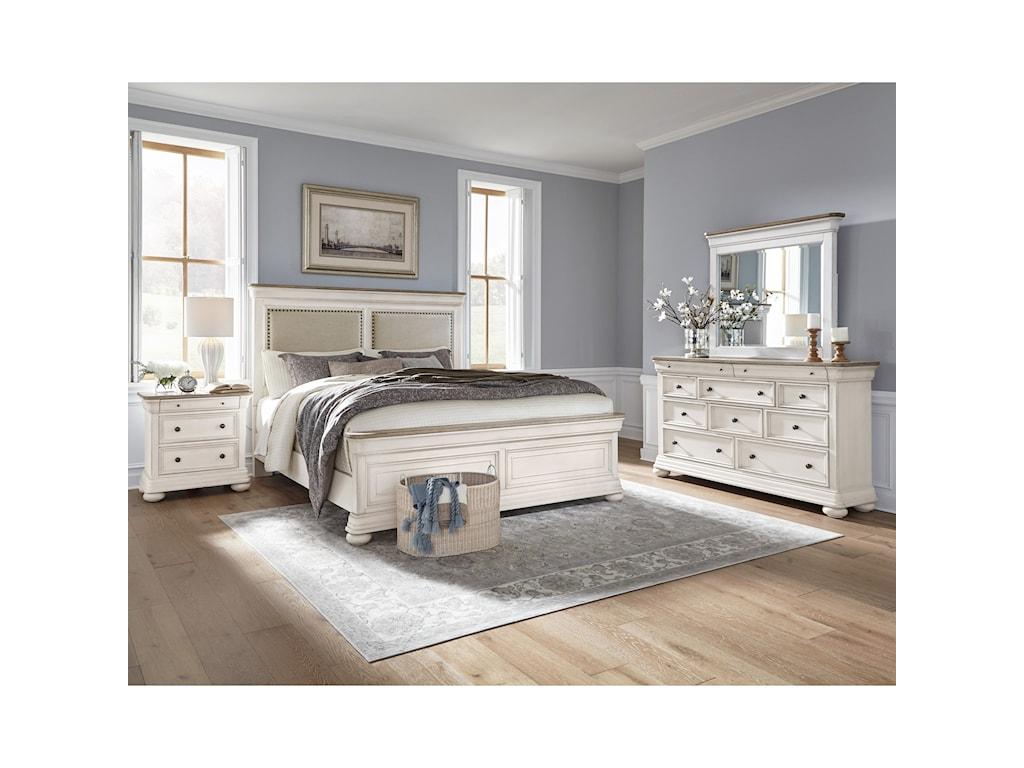 Samuel Lawrence LafayetteKing Upholstered Bed