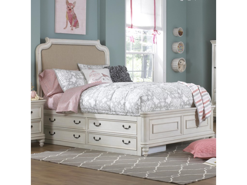 Samuel Lawrence MadisonFull Bed w/ Under Bed Storage