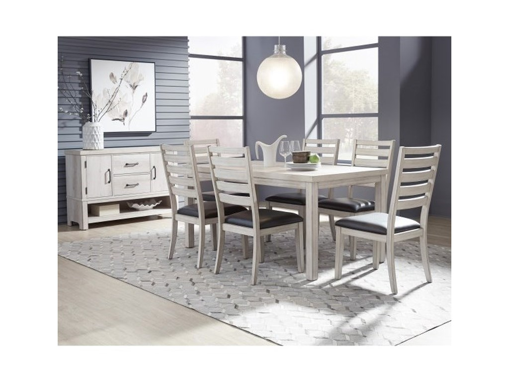 Samuel Lawrence Penfield7-Piece Table and Chair Set