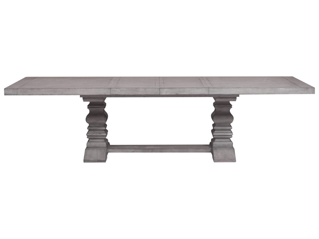 Morris Home Furnishings Webster StreetWebster Street Trestle Dining Table