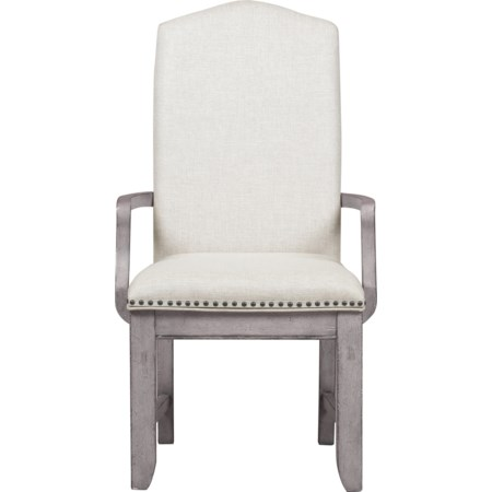 Webster Street Upholstered Arm Chair