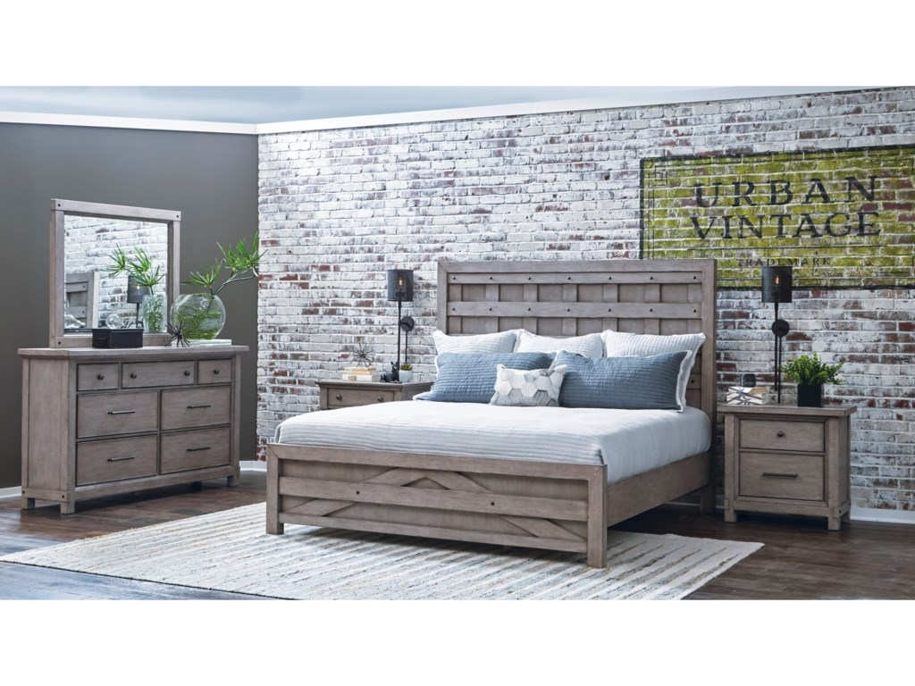Samuel Lawrence Prospect HillQueen Pallet Bed