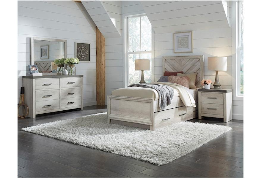 Riverwood Dresser and Mirror Set