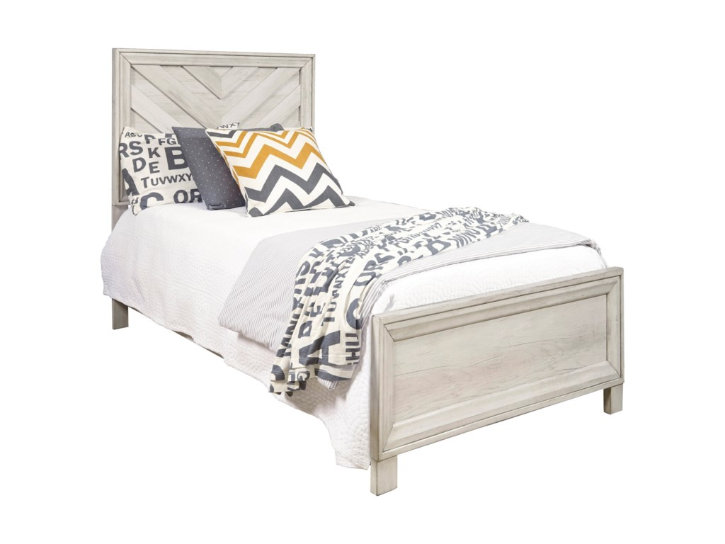 Samuel Lawrence RiverwoodTwin Panel Bed