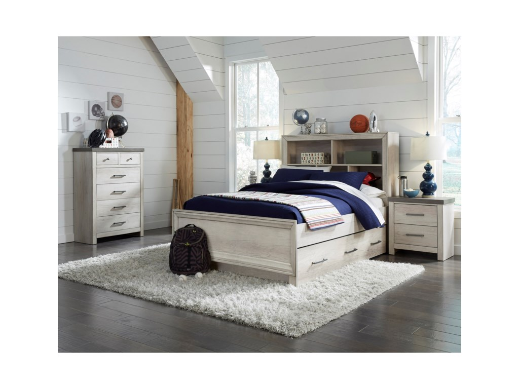 Samuel Lawrence RiverwoodTwin Bookcase Bed