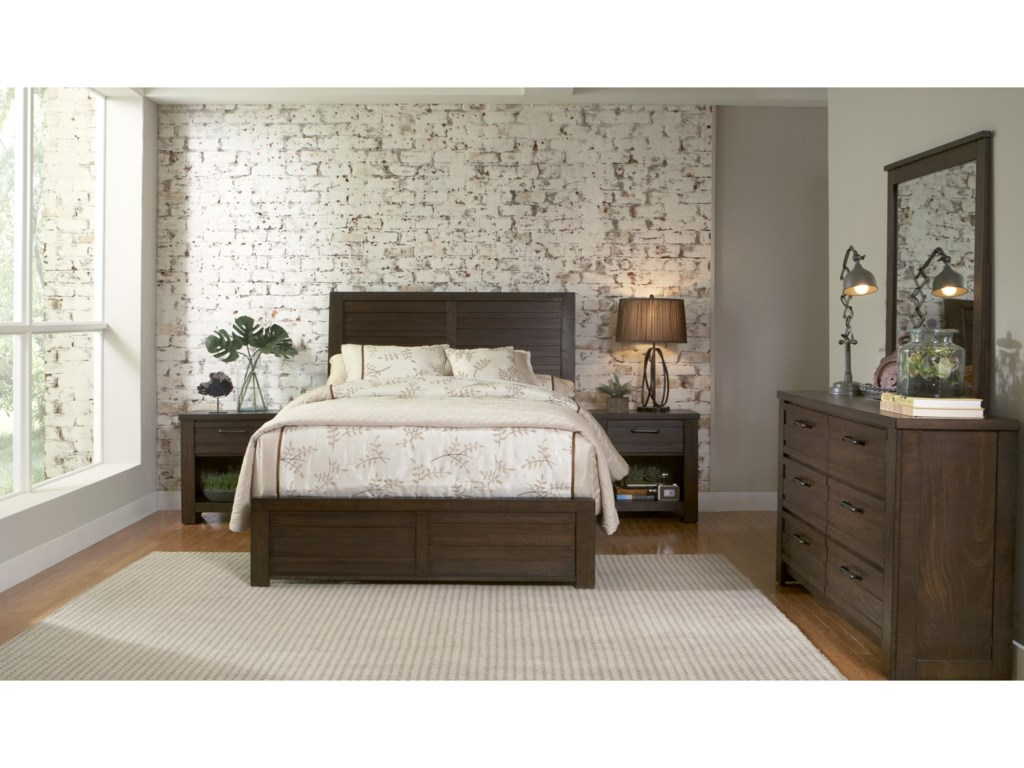 Samuel Lawrence Ruff HewnQueen Bedroom Group