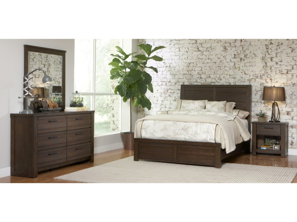 Morris Home Furnishings RutherfordRutherford King Bed