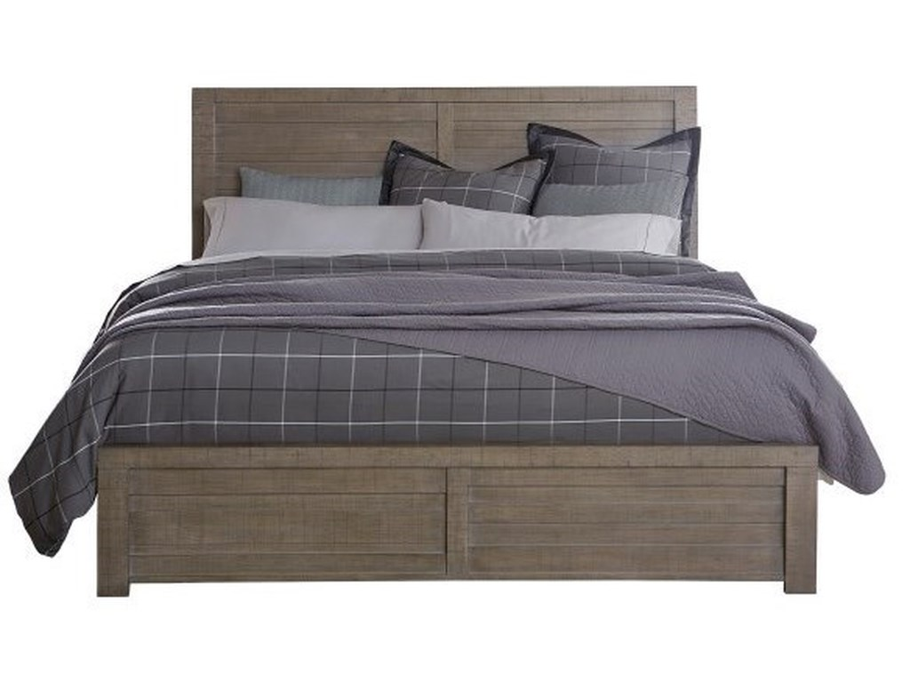Samuel Lawrence Ruff Hewn GrayQueen Bed