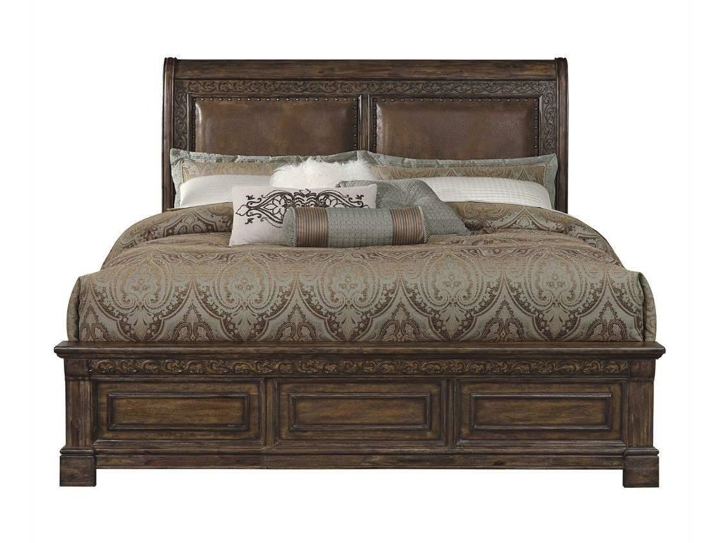 Samuel Lawrence Barcelona King Bed - Great American Home Store ...