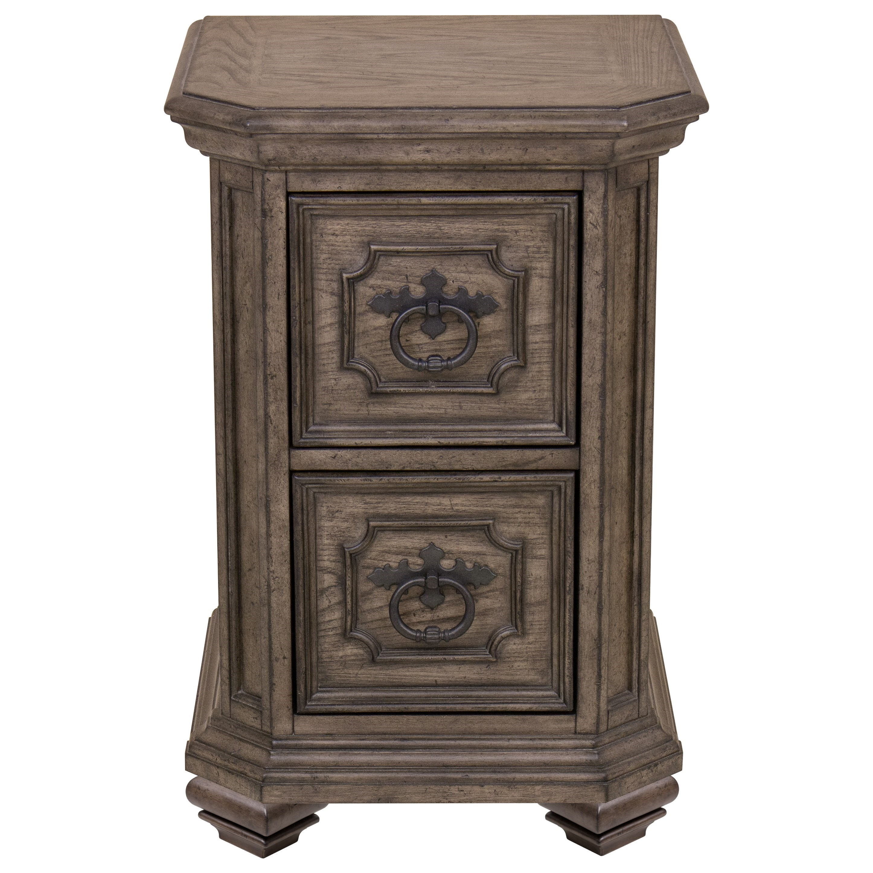 Samuel Lawrence Montecito Traditional Small Nightstand With