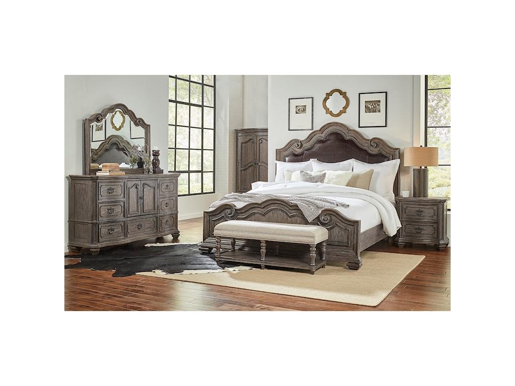 Morris Home Furnishings MontecitoMontecito King Upholstered Bed