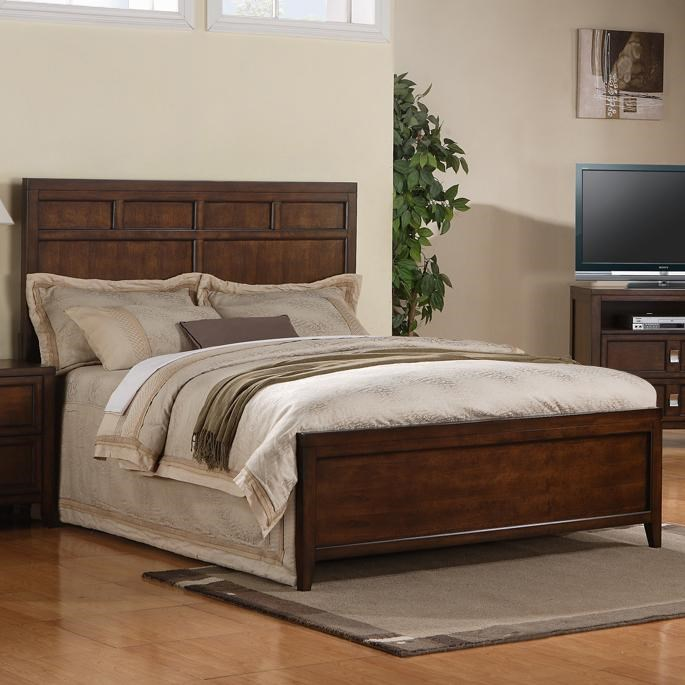 Morris home furnishings baysidebayside queen panel bed