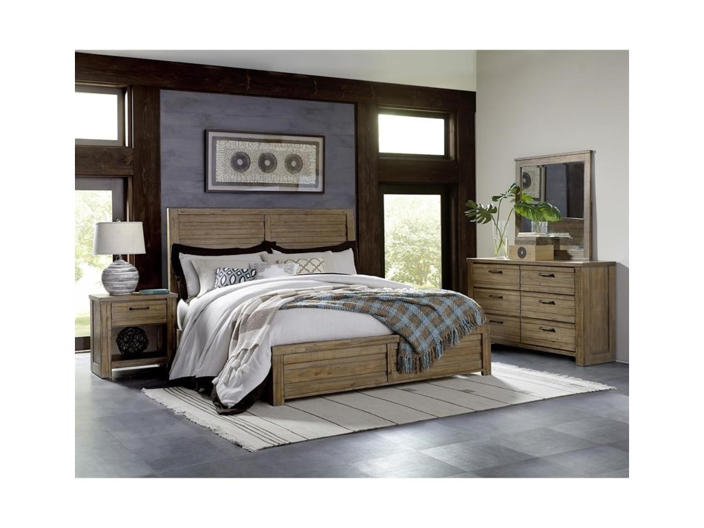 Samuel Lawrence SoHoCalifornia King Bedroom Group