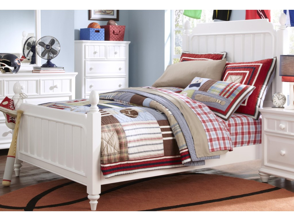 Samuel Lawrence SummerTime YouthTwin Poster Bed
