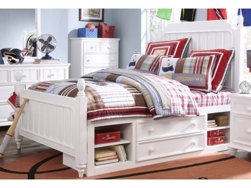 Samuel Lawrence SummerTime YouthTwin Underbed Storage