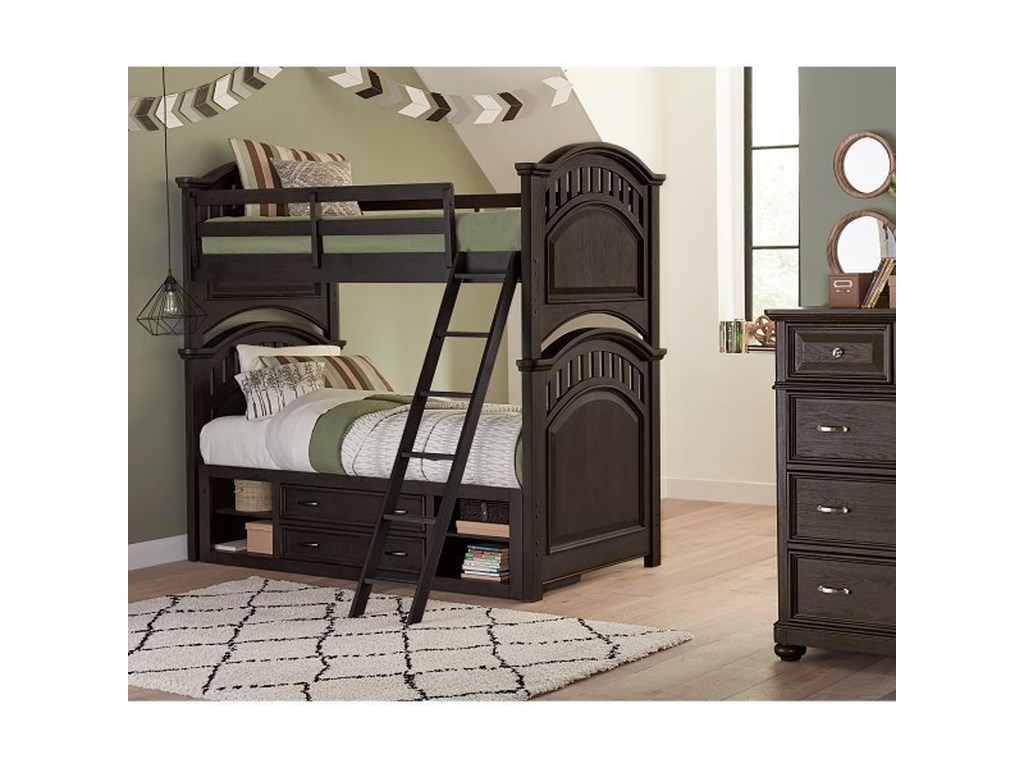 Samuel Lawrence TundraTwin Bunk Bed with Underbed Storage Unit