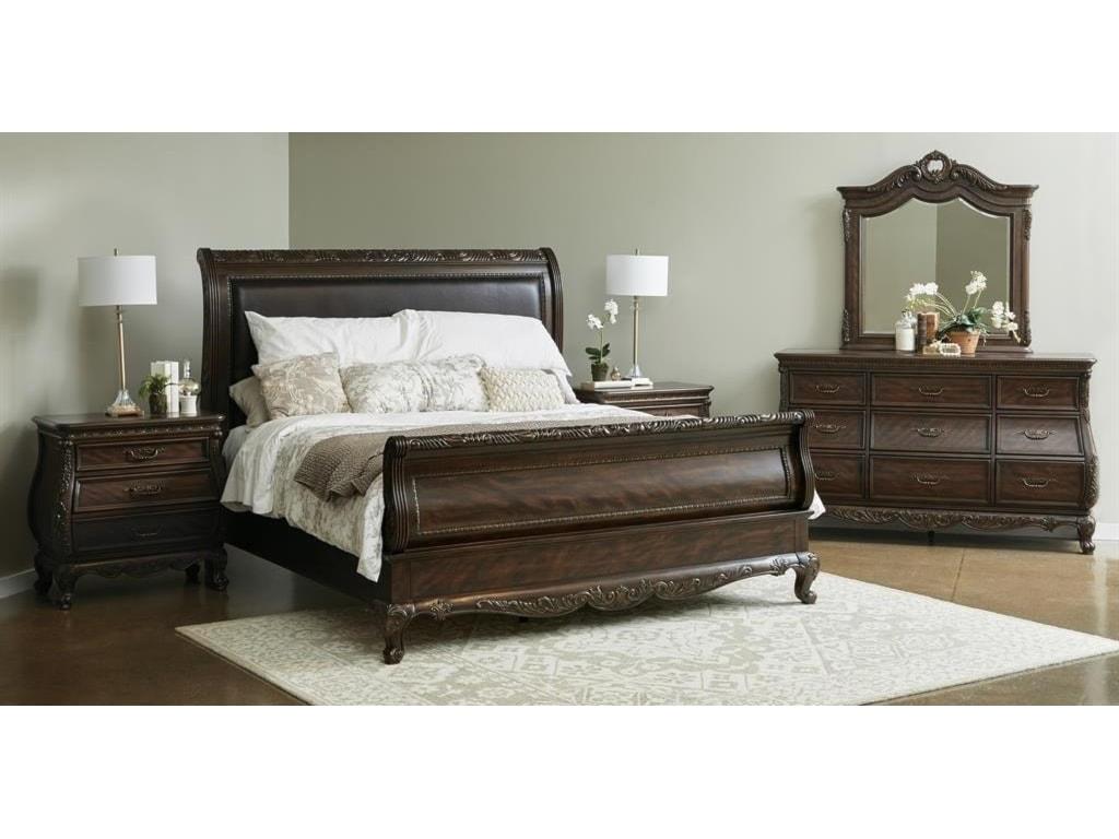 Samuel Lawrence VintageCalifornia King Sleigh Bed
