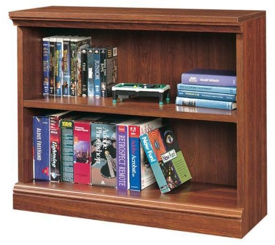Sauder Camden County 2 Shelf Bookcase With 1 Adjustable Shelf