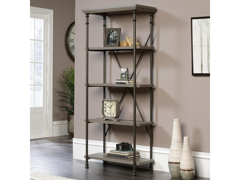 Sauder Canal Street5-Shelf Bookcase