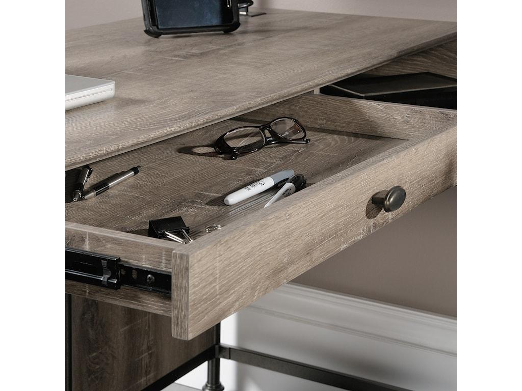 Sauder Canal StreetL-Shaped Desk